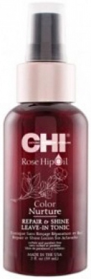 Тоник для волос  с маслом лепестков роз / CHI Rose Hip Repair and Shine  Hair Tonic, 2oz/59мл фл.